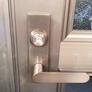 サムラッチタイプ電気錠をレバーハンドルタイプ電気錠にリニューアル